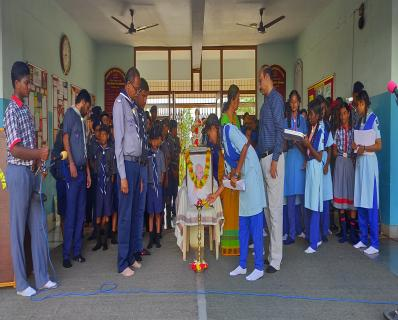 celebration of Mahatma Gandhi